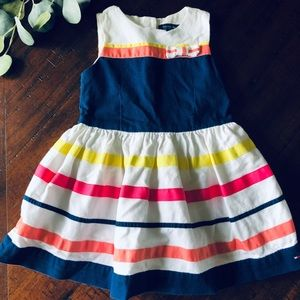 Sleeveless Striped Tommy Hilfiger Dress
